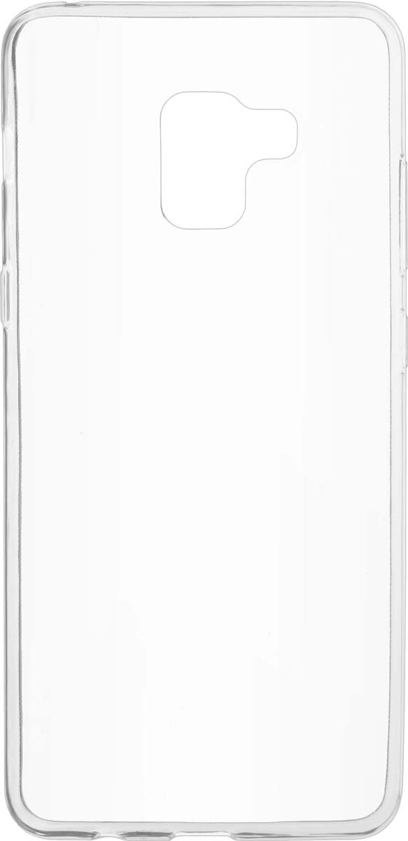 все цены на Skinbox Slim Silicone чехол для Samsung Galaxy A7 (2018)/A8 Plus (2018), Transparent онлайн
