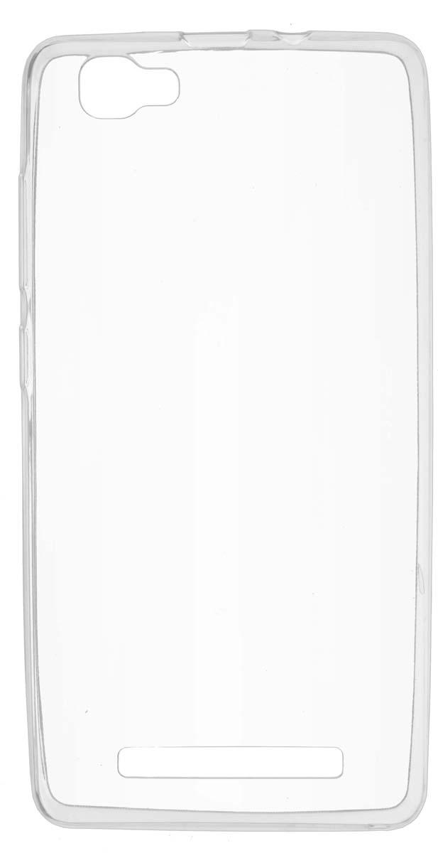 Skinbox Slim Silicone чехол для Prestigio Grace P5, Transparent