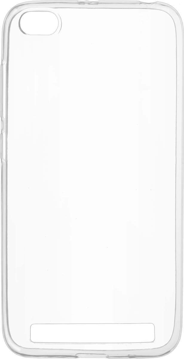 Skinbox Slim Silicone чехол для Xiaomi Redmi 5A, Transparent