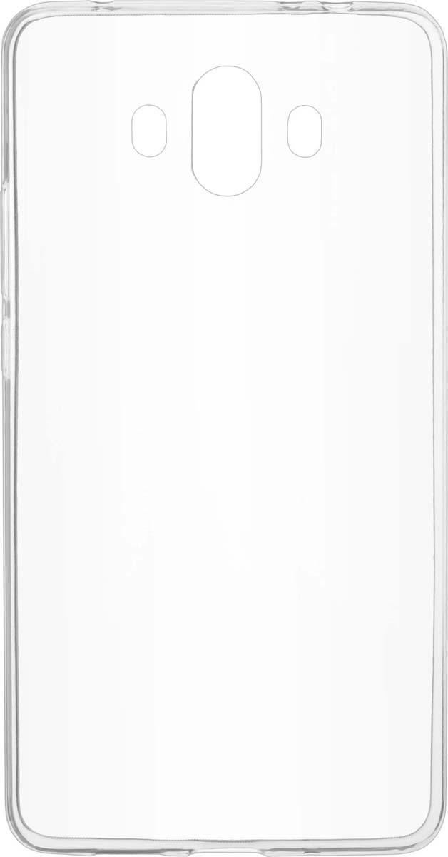 Skinbox Slim Silicone чехол для Huawei Mate 10, Transparent skinbox silicone slim чехол для huawei mate 8 transparent