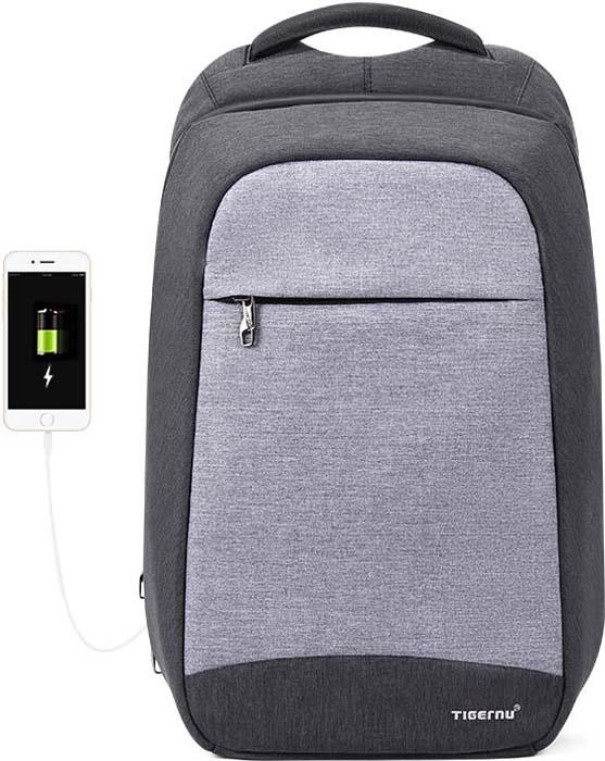 "Tigernu T-B3335 Dark Grey, рюкзак для ноутбука 15,6"""