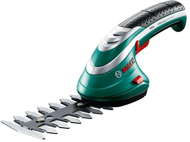 Аккумуляторные ножницы для травы Bosch ISIO 3 + насадка распылитель 060083310G аккумуляторные ножницы bosch isio ручка 0 600 833 105