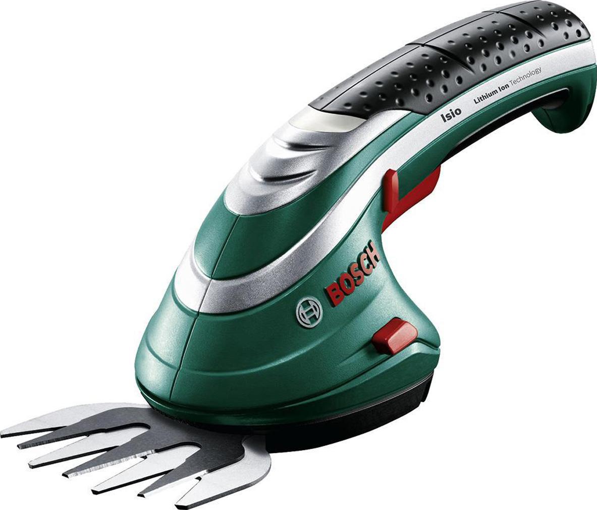 Аккумуляторные ножницы для травы Bosch ISIO 3 + чехол 0600833100 аккумуляторные ножницы bosch isio ручка 0 600 833 105