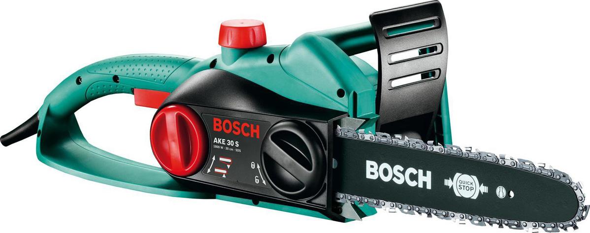 Цепная пила Bosch AKE 30 S. 0600834400 электропила bosch ake 30 s