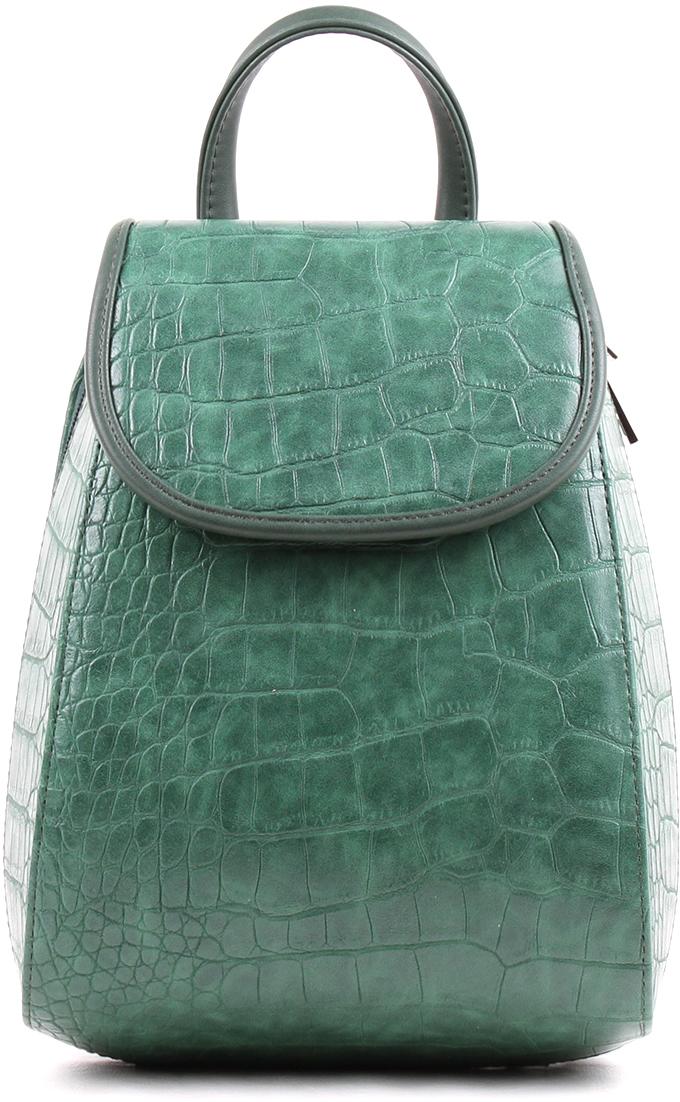 Рюкзак женский Медведково, цвет: зеленый. 18с2517-к14