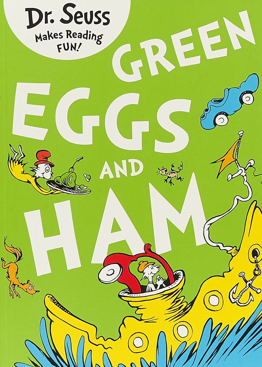 Green Eggs And Ham dr seuss bilingual classical picture book full set of 15 volumes of 7 10 year old simplified chinese and english paperback
