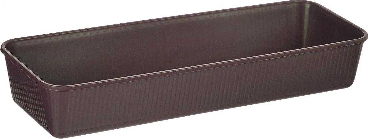 Ящик для рассады Альтернатива, цвет: коричневый, 53 х 18,5 х 9 см ящик универсальный альтернатива раскладной 38 5 х 25 5 см
