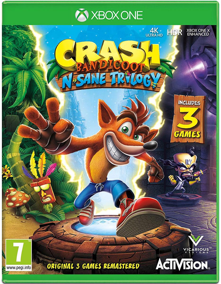 Crash Bandicoot N'sane Trilogy (Xbox One) xbox