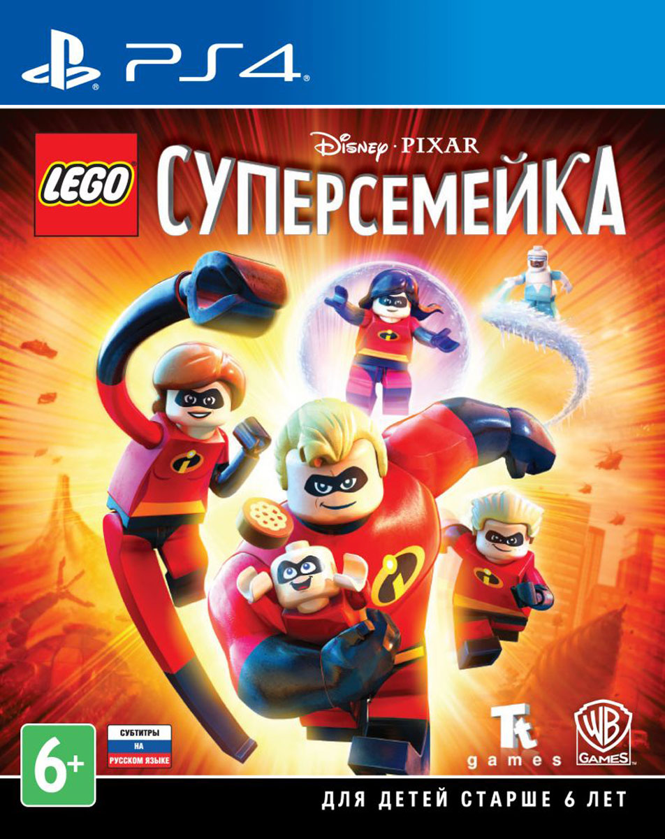 LEGO Суперсемейка (PS4), TT Games Publishing Ltd.