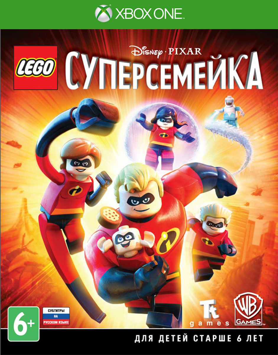 LEGO Суперсемейка (Xbox One), TT Games Publishing Ltd.