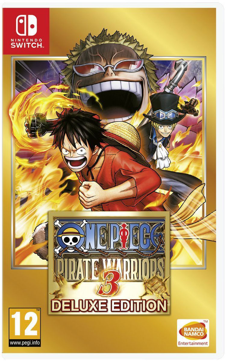 One Piece Pirate Warriors 3. Deluxe Edition (Nintendo Switch) japan anime one piece original megahouse variable action heroes action figure sanji
