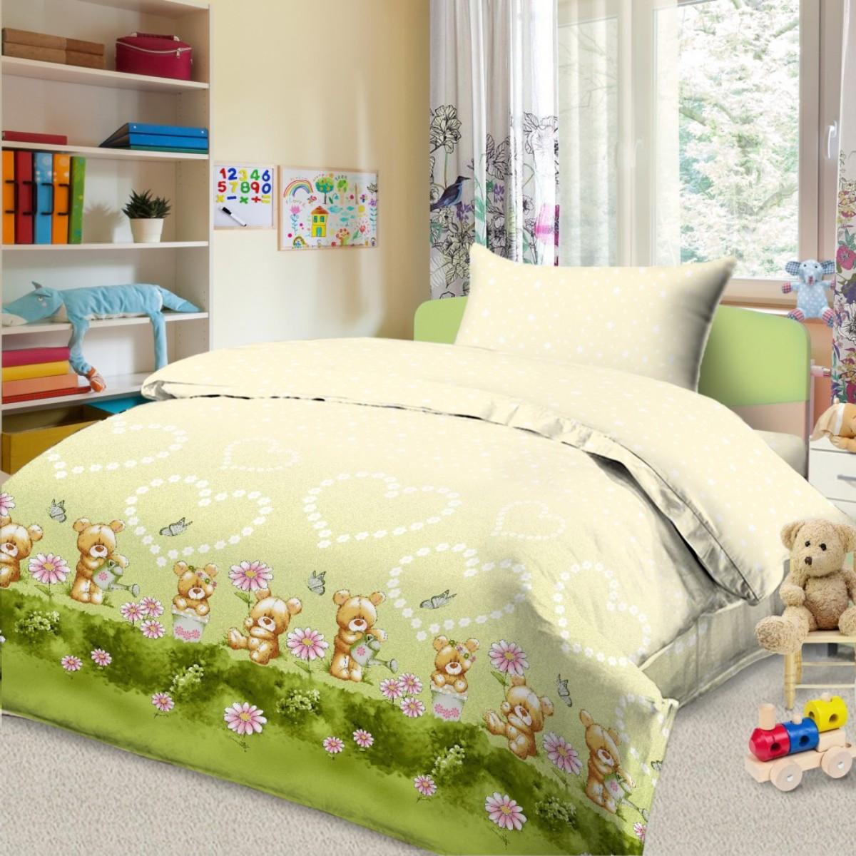 Комплект в кроватку Letto, цвет: бежевый. BGR-90