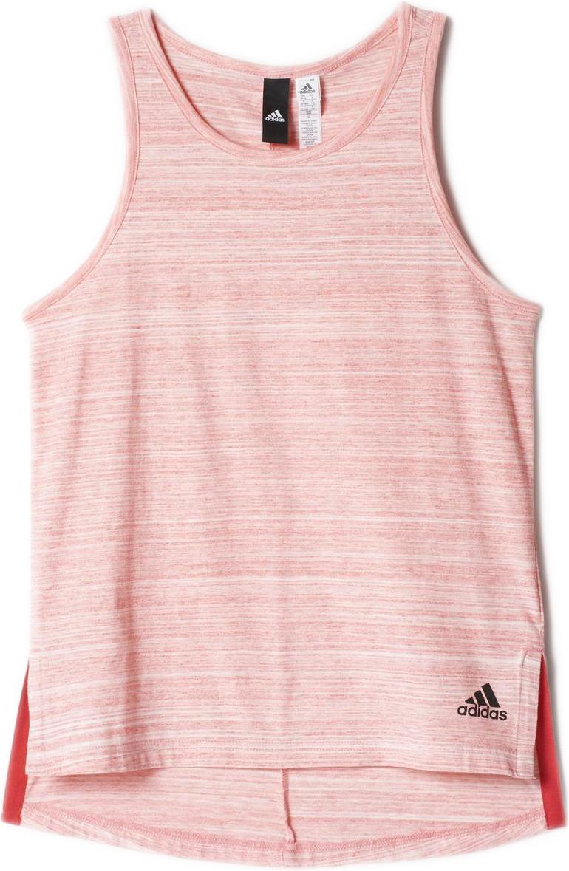 Майка для девочки Adidas Yg Id Relax Tk, цвет: розовый. BK2238. Размер 152BK2238Майка для девочки Adidas Yg Id Relax Tk выполнена из натурального хлопка. Это удобная модель для приверженцев спортивного стиля и комфортной экипировки, которая будет уместна не только в тренажерном зале, но и в повседневной жизни. Свободный крой имеет слегка удлиненную спинку и разрезы по бокам для большей свободы движений. Глубокие проймы для рук дополнят свободный образ. Слева внизу расположен логотип бренда, который подчеркнет вашу приверженность фирменному качеству.