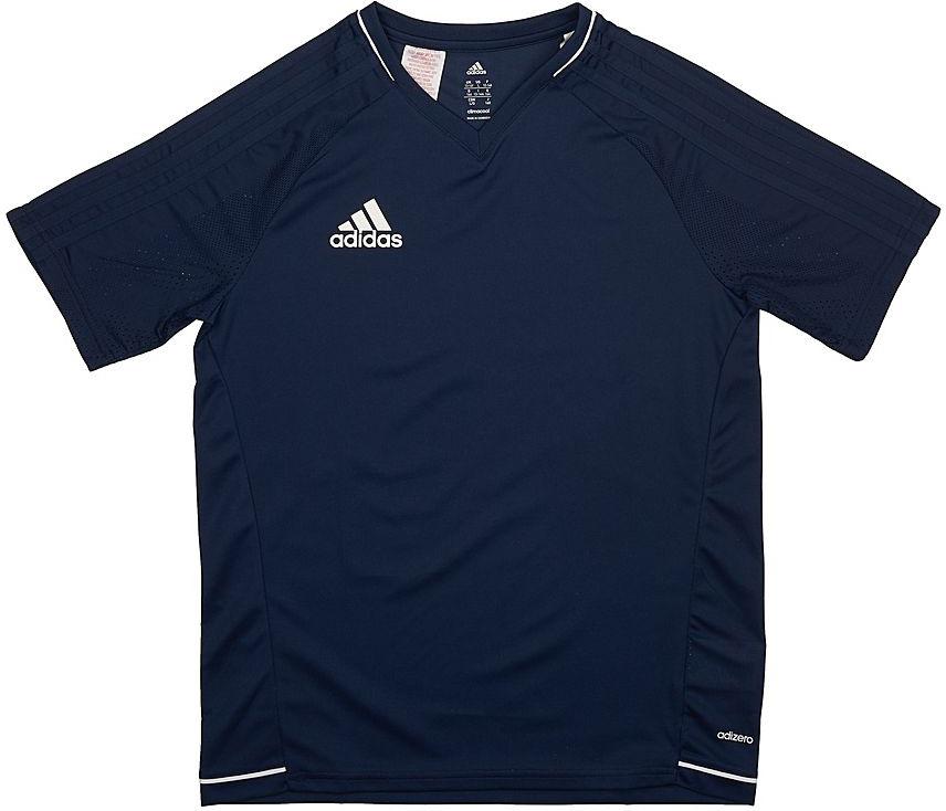 Футболка для мальчика Adidas Tiro17 Trg Jsyy, цвет:  синий.  BP8564.  Размер 164 Adidas