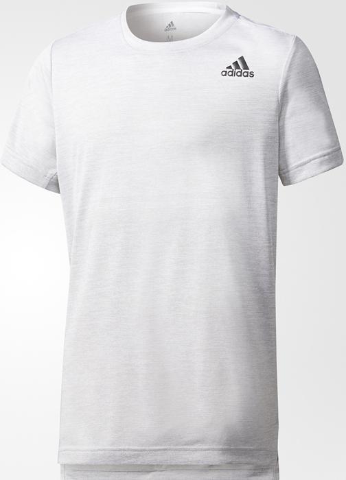 Футболка для мальчика Adidas Yb Tr Grad Tee, цвет: белый. CE5845. Размер 164