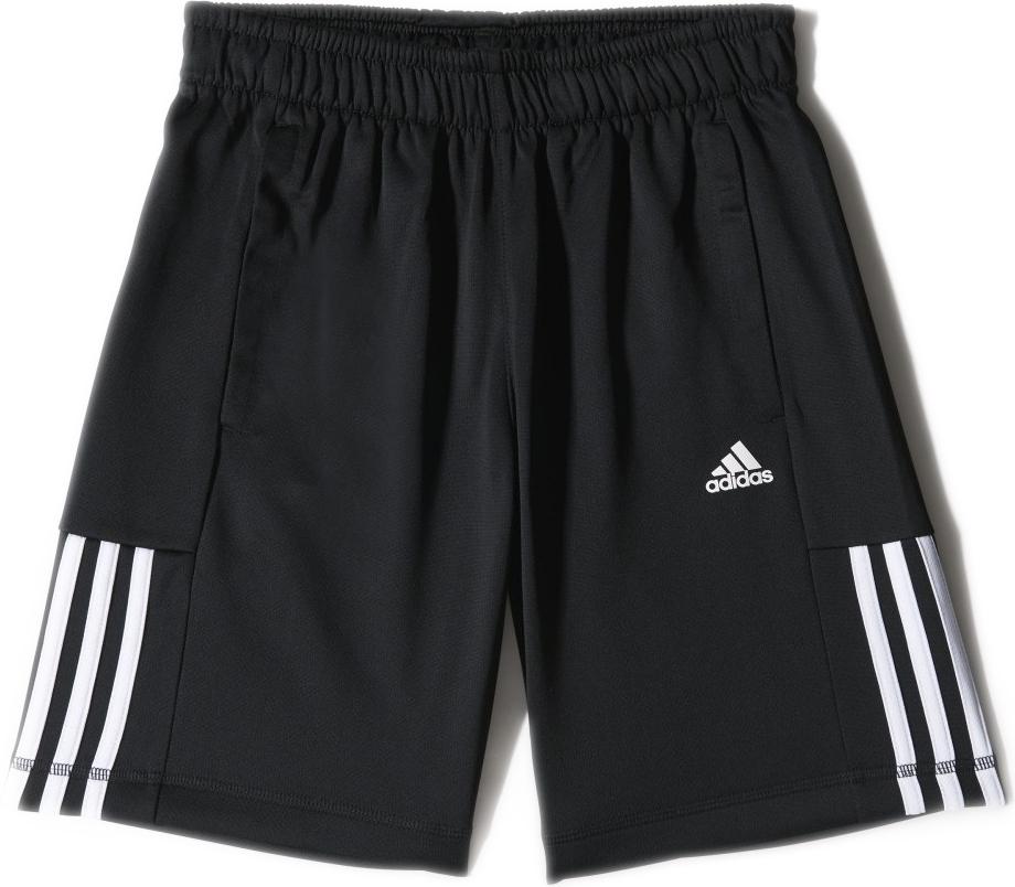 Шорты для мальчика Adidas Yb Ess M3s P Sh, цвет: черный. S23285. Размер 164