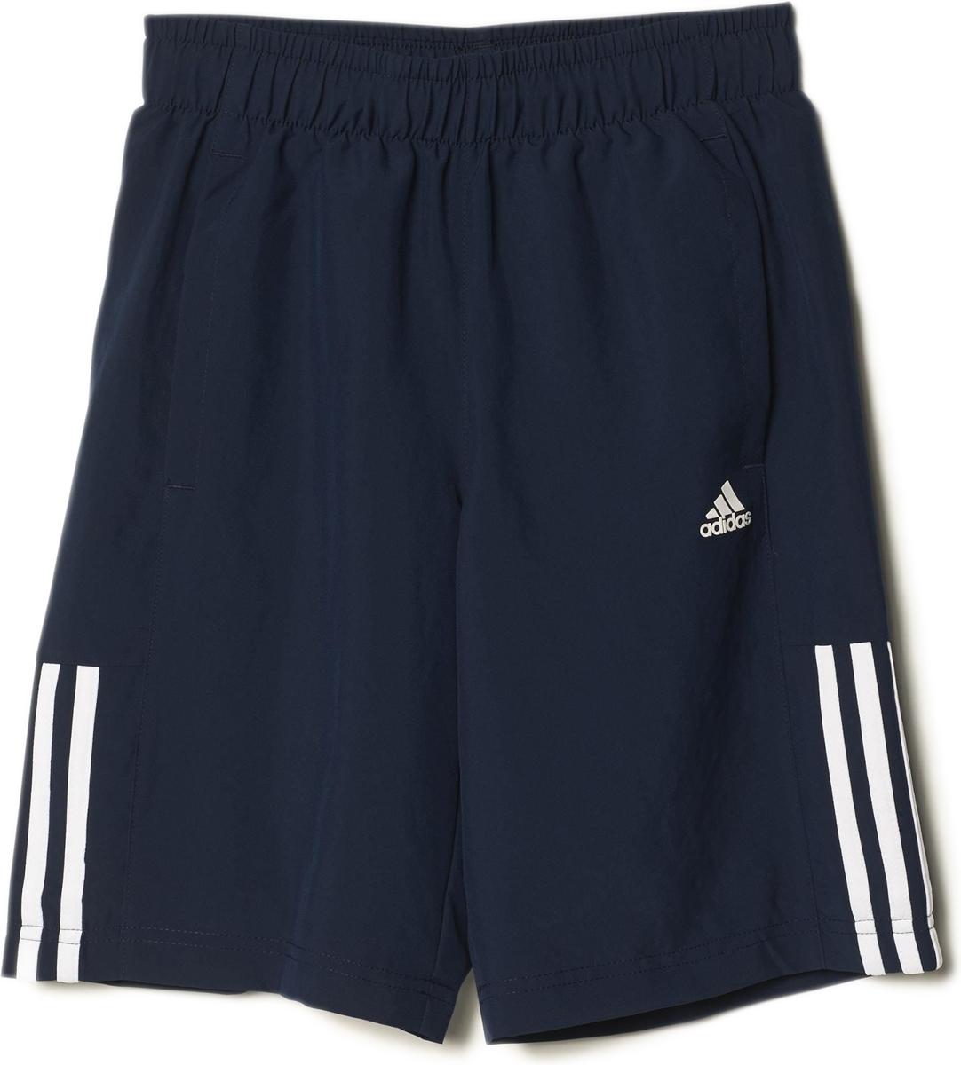 Шорты для мальчика Adidas Yb Ess M3s Wvsh, цвет: черный. AB6025. Размер 164
