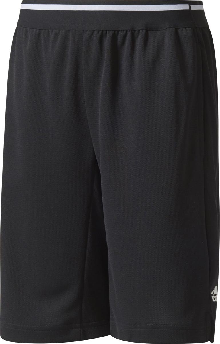Шорты для мальчика Adidas Yb Tr Cool Sh, цвет: черный. CE5829. Размер 164 шорты для мальчика adidas yb ess m3s wvsh цвет черный ab6025 размер 128