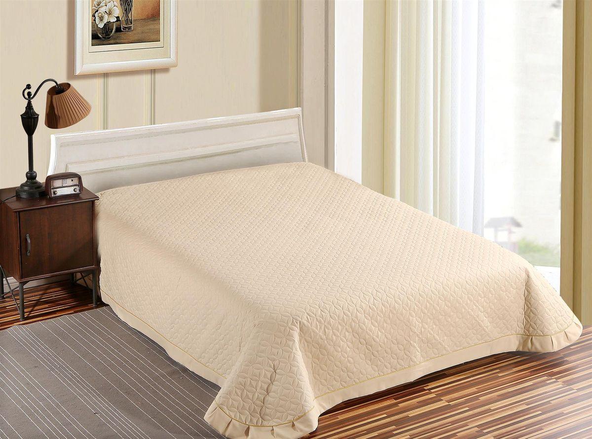 """Стёганое покрывало 240 х 260. Полиэстер 100%. Микрофибра. """"Soft Line"""" предлагает широкий ассортимент высококачественного домашнего текстиля разных направлений и стилей. Это и постельное белье из тканей различных фактур и орнаментов, а также мягкие теплые пледы, красивые покрывала, воздушные банные халаты, текстиль для гостиниц и домов отдыха, практичные наматрасники, изысканные шторы, полотенца и разнообразное столовое белье. """"Soft Line"""" - это ваш путеводитель по мягкому миру текстиля, полному удивительных достопримечательностей. Постельное белье марки """"Soft Line"""" подарит вам радость и комфорт!"""
