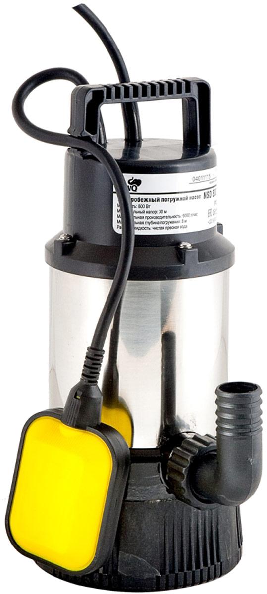 """Дренажный насос WWQ серии NSD имеет уникальные гидравлические характеристики иихсоотношение. Насос используется для перекачивания только чистых жидкостей. Может эксплуатироваться только ввертикальном положении. Снабжен поплавковым выключателем, обеспечивающим автоматическое включение ивыключение насоса взависимости отуровня воды. Насос оснащен встроенной термозащитой, которая блокирует работу насоса вслучае его перегрева. Имеет фиксатор кабеля поплавкового выключателя. Требует напряжения всети 220В/50Гц. Внешние диаметры универсального штуцера: 25/38/G 1"""" мм."""