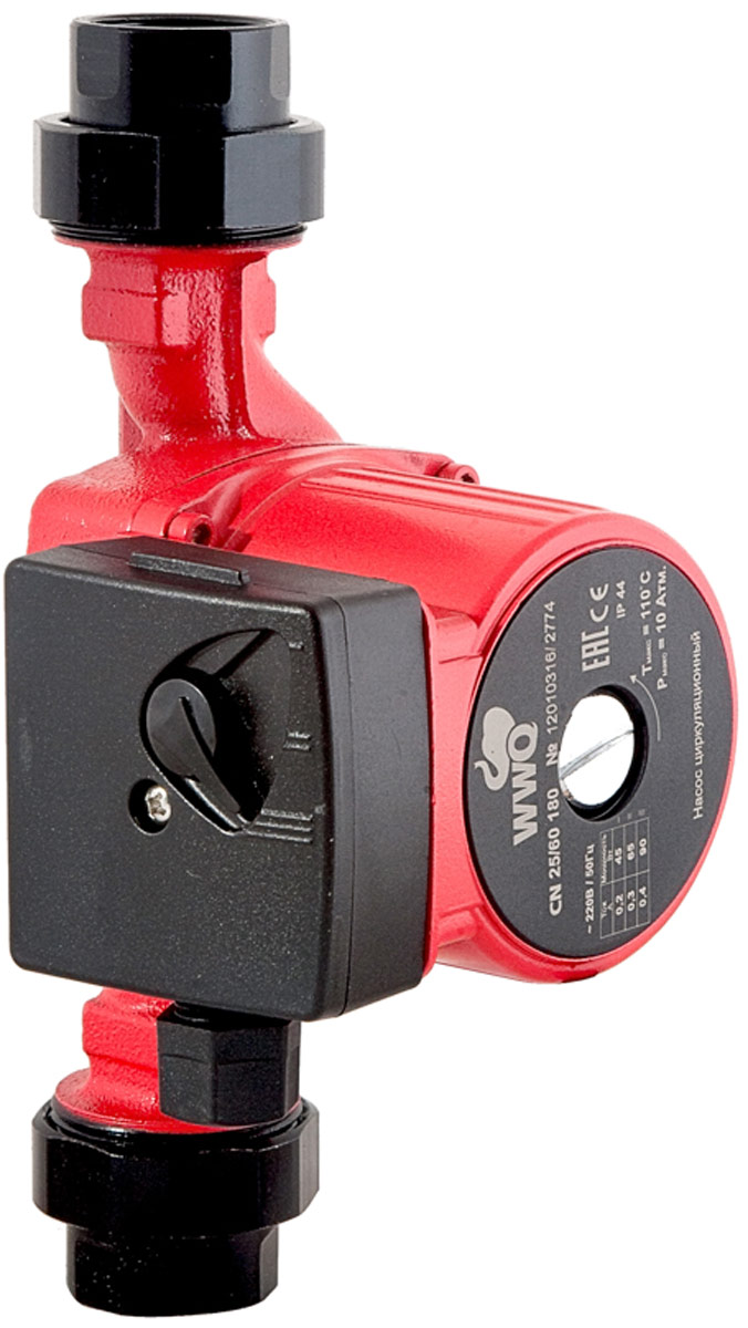 Циркуляционный насос WWQ серии СN предназначен для создания принудительной циркуляции теплоносителя внутри замкнутой системы отопления. Такой насос позволяет улучшить процесс теплоотдачи иувеличивают КПД системы отопления дома. Вкачестве теплоносителя может быть использована как чистая вода, так инизкозамерзающая жидкость для систем отопления. Насос имеет три скоростных режима работы итребуют напряжения всети 220В/50Гц.
