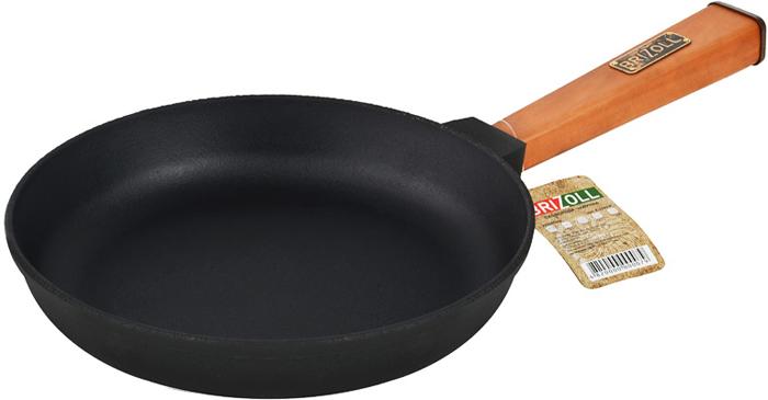 """Главная особенность чугунных сковородок """"Brizoll"""" - это запатентованная технология изготовления. В специальной печи посуда подвергается воздействию высокой температуры, которая меняет структуру материала и повышает его качественные характеристики."""