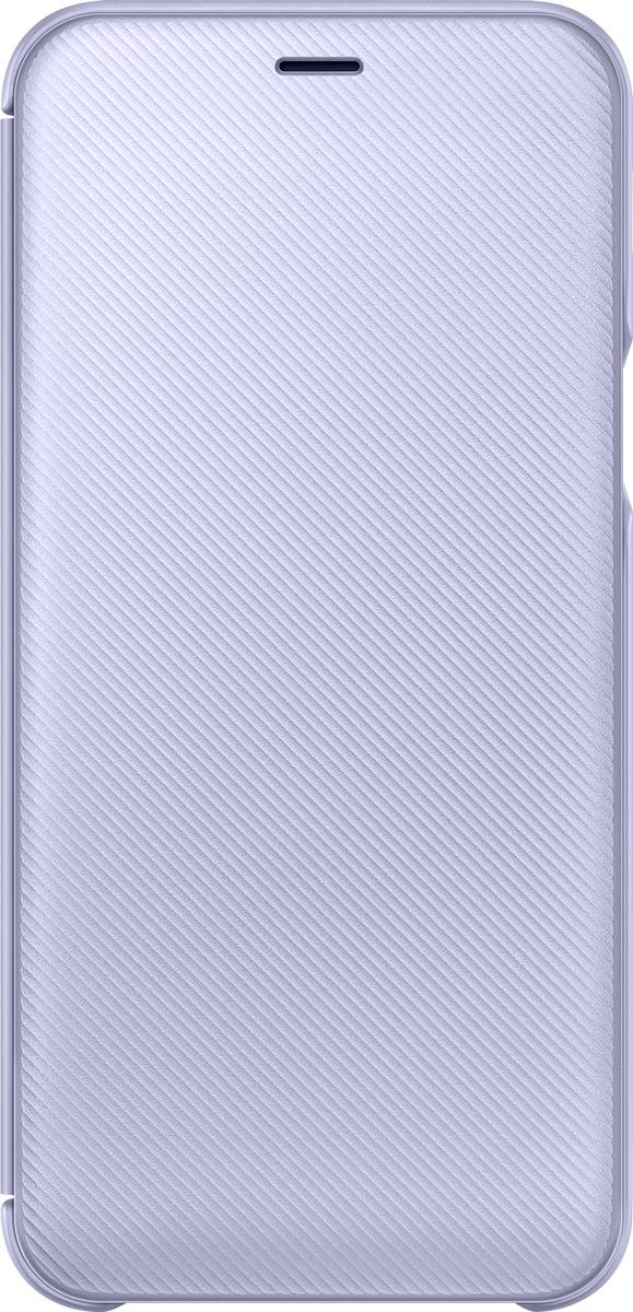 Samsung Wallet Cover чехол для Samsung Galaxy A6 (2018), Violet amalthea genuine leather wallet female