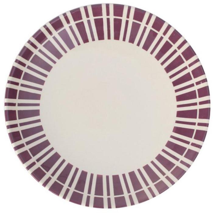 """Посуда из фаянса отличного качества. Декоративная отделка - ручная работа. Краски рисунка сохраняют яркость даже после длительного использования. Серия посуды из коллекции """"Обед на траве"""", дизайнера Фабьена Бору. Вариации классических декоров в ярких красках и пастельных тонах. Всегда популярный винтажный дизайн! Отличная столовая посуда на каждый день.  Можно использовать в микроволновой печи и мыть в посудомоечной машине."""