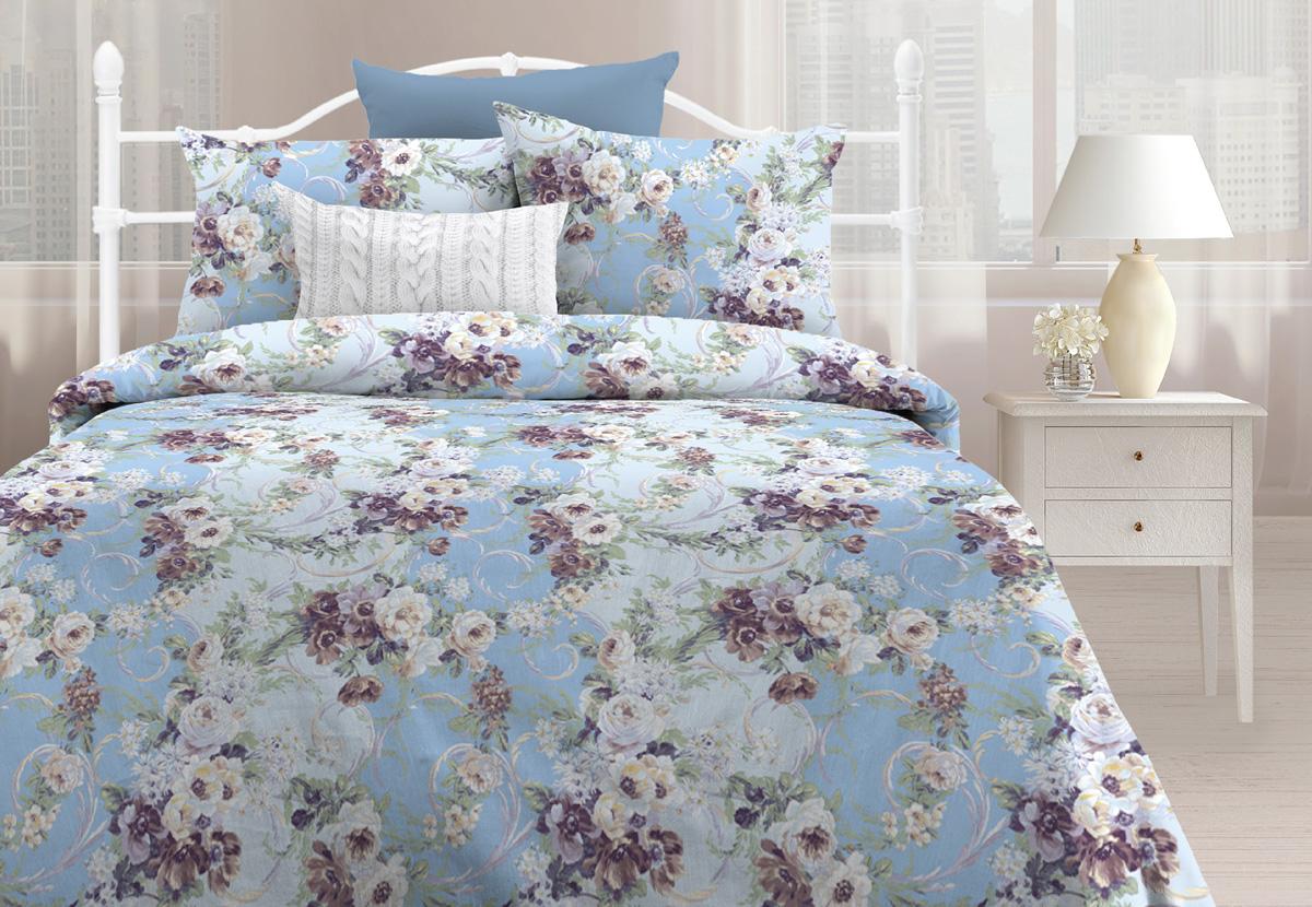 цена на Комплект постельного белья Любимый дом Мелани, 1,5 спальное, наволочки 70 х 70