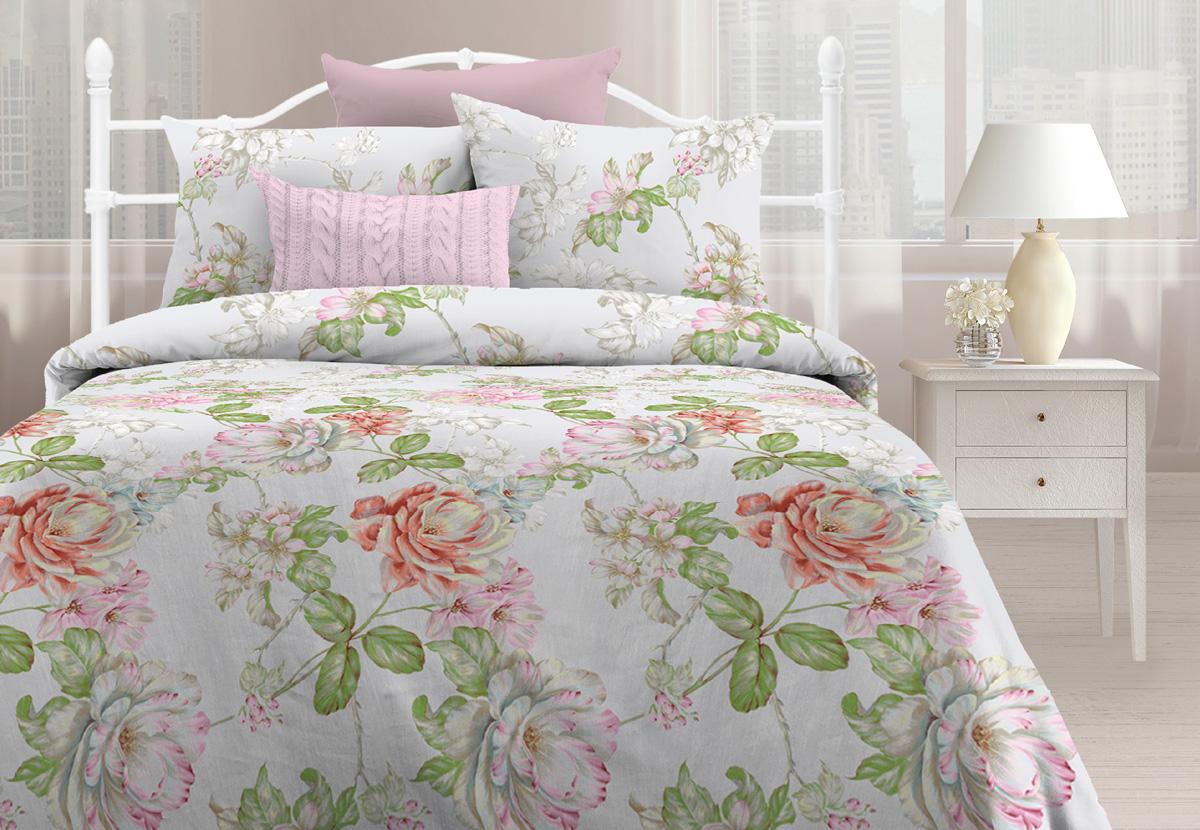 Комплект постельного белья Любимый дом Лорен, 2-х спальное, наволочки 70 х 70 любимый дом любимый дом кпб солнечный мак 2 спал