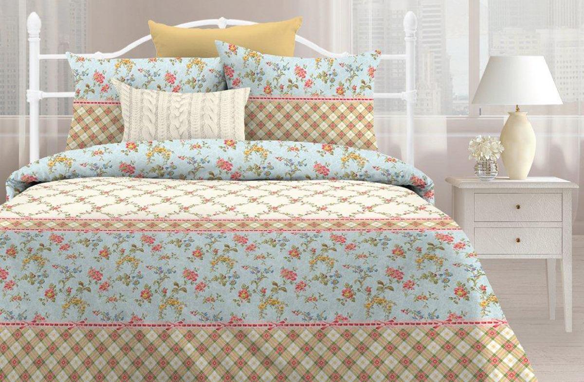 цена на Комплект постельного белья Любимый дом Тоскана, 2-х спальное, наволочки 70 х 70