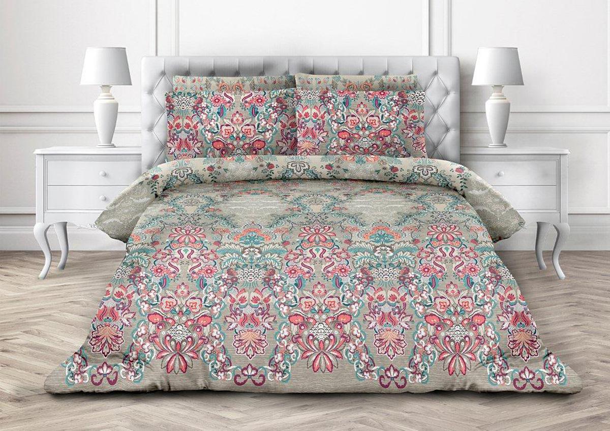 Комплект постельного белья Любимый дом Лукоморье, 2-х спальное, наволочки 70 х 70 любимый дом бязь гладиолусы