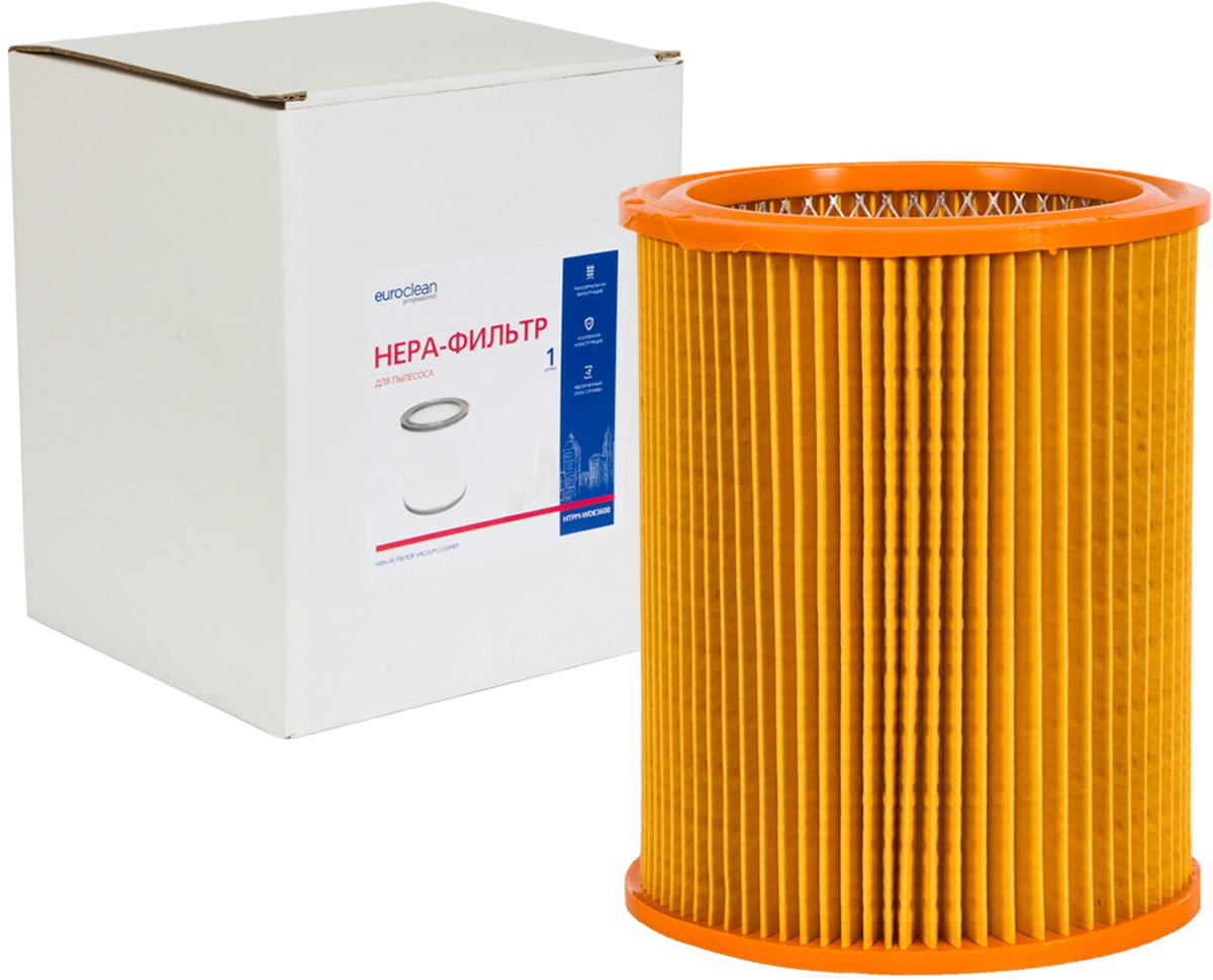 Euroclean HTPM-WDE3600 фильтр складчатый для сухой пыли к пылесосам Hitachi (аналог 710060) euroclean flsm as20 фильтр складчатый многоразовый моющийся для пылесосов felisatti as20 1200