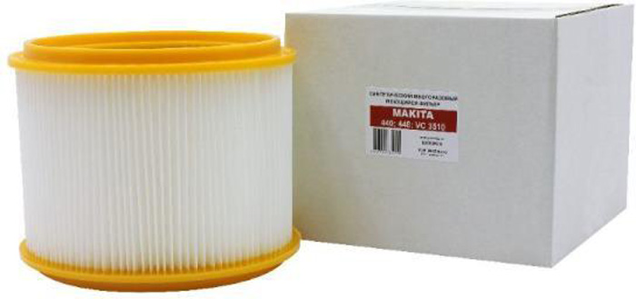 Euroclean MKSM-440 фильтр складчатый многоразовый для пылесоса Makita (аналого 83203BJA) - Бытовые аксессуары