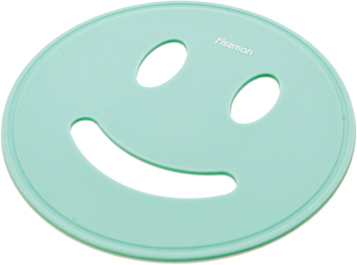 """Подставка под горячее Fissman """"Улыбка"""" изготовлена из экологически чистого силикона. Легко моется, не бьется, не скользит на столешницах любого типа. Подставку легко и удобно хранить. Яркие, сочные цвета принесут радостное настроение на вашу кухню."""