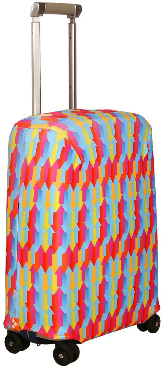 Чехол для чемодана Routemark Вверх тормашками, размер S (50-55 см)
