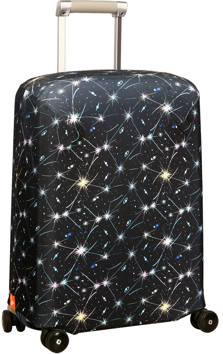 "Чехол для чемодана Routemark ""Огнепад"", размер S (50-55 см)"