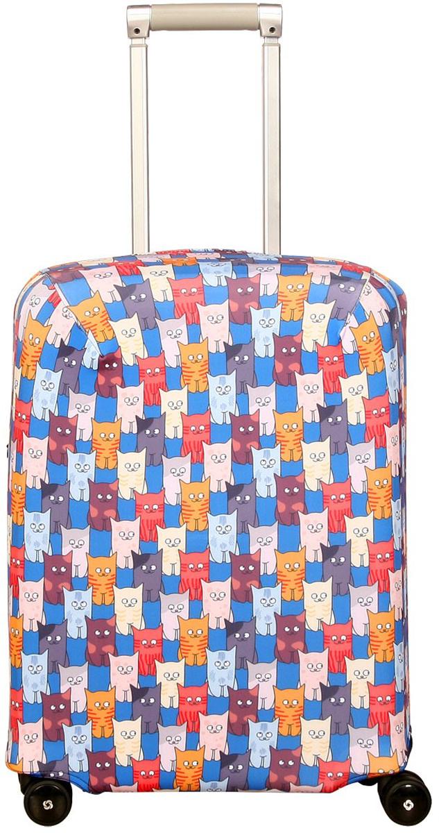 Чехол для чемодана Routemark Шкодастрофа, размер S (50-55 см)