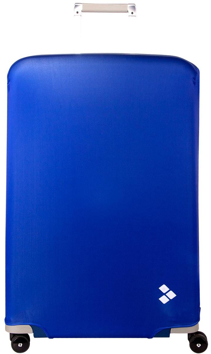 Чехол для чемодана Routemark Dark Blue, размер L/XL (75-85 см)