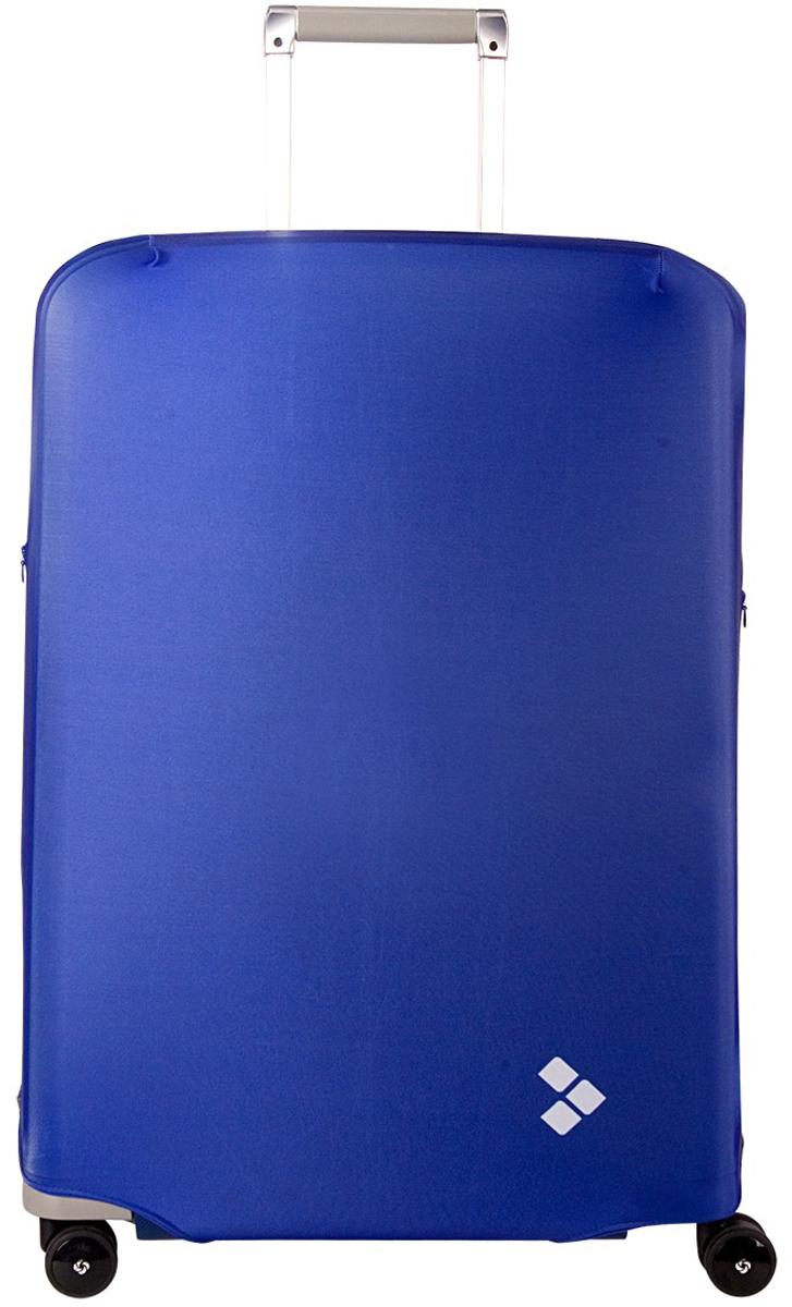 Чехол для чемодана Routemark Dark Blue, размер M/L (65-74 см)