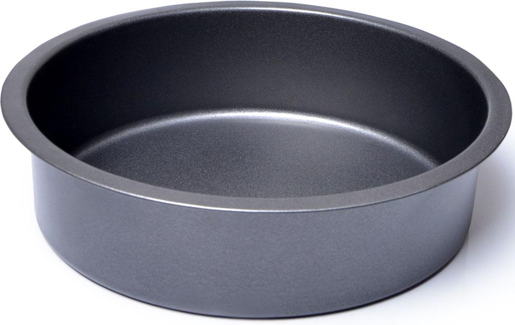 Форма для выпечки изготовлена из углеродистой стали с антипригарным каменным покрытием TouchStone и обладает превосходными антипригарными свойствами. Не содержит в составе вредных веществ. Металлическая форма найдет свое применение для выпечки большинства кулинарных шедевров. Металлические стенки быстро распределяют тепло, выпечка пропекается равномерно. Благодаря антипригарному покрытию, готовый продукт легко вынимается, а чистка формы не составит большого труда. Какое бы блюдо вы не приготовили, результат будет превосходным!