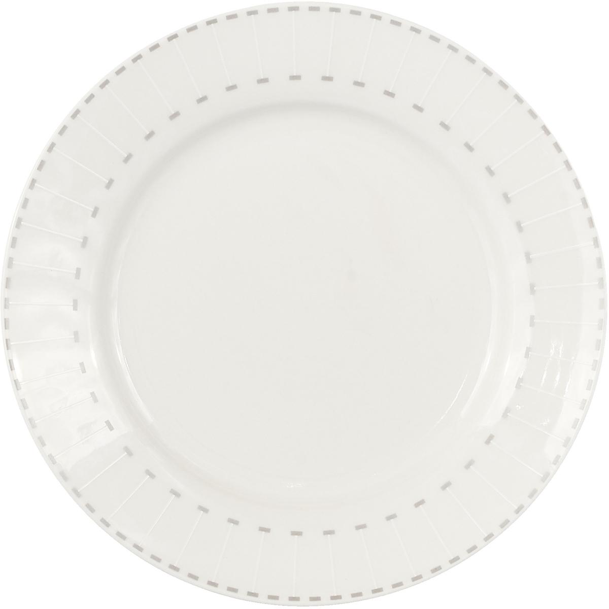 """Коллекция """"Лайн"""" от Miolla представляет собой традиционную классику, выполненную в нежных цветовых решениях и изысканном дизайне. Коллекция включает в себя классическую линейку: тарелка обеденная 27 см, суповая тарелка 22 см, десертная тарелка 19 см.Также представлены наборы: из 4х блюд 36 см, 30,5 см, набор салатников 23 см, 16 см, обеденных тарелок 27 см.Подходит для использования в микроволновой печи, можно мыть в посудомоечной машине.Подходит для любых событий и торжеств.Подходит для использования посудомоечной машине и СВЧ печи. Не использовать на открытом огне."""