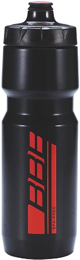 Фляга велосипедная BBB AutoTank XL, цвет: черный, красный, 750 мл