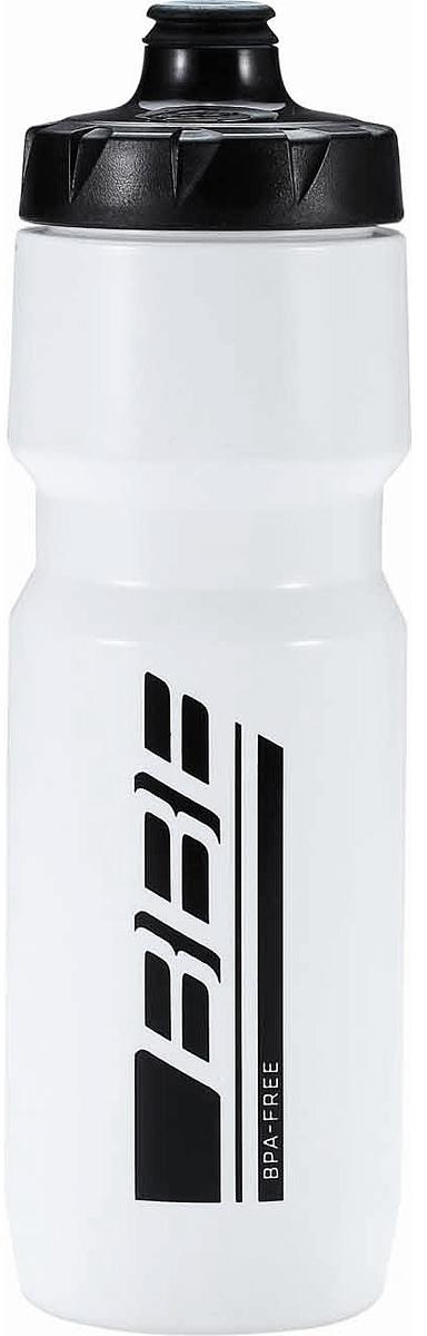 Фляга велосипедная BBB AutoTank XL, цвет: белый, 750 мл