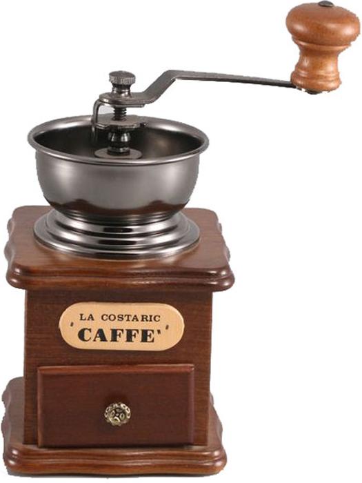 """Кофемолка ручная Gipfel """"Volans"""" - настоящее произведение посудного искусства. Кофемолка выполнена из дерева и нержавеющей стали.  Особенности кофемолки - открытая стальная воронка, регулятор степени помола (чем туже его закрутить, тем мельче будет смолот кофе), выдвижной ящик для смолотого кофе и прочные керамические жернова.  Такая кофемолка станет желанным подарком настоящим гурманам и истинным ценителям натурального кофе."""
