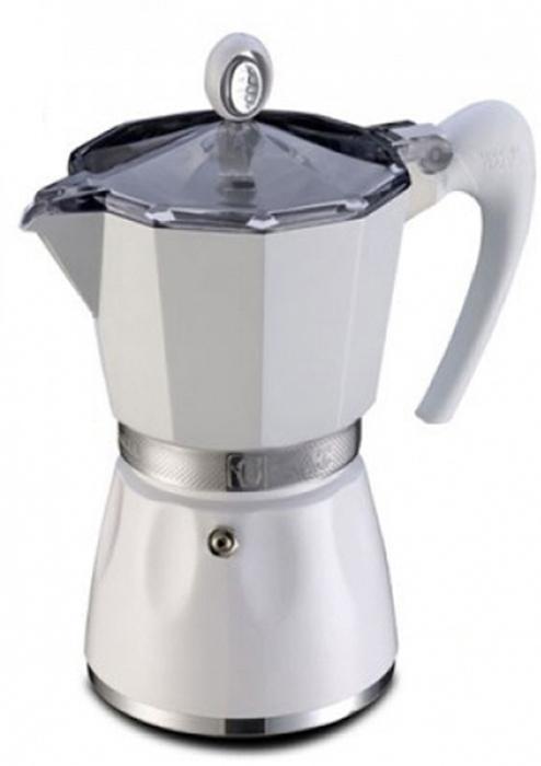 Гейзерная кофеварка G.A.T. выполнена из  алюминия. Изделие состоит  из двух частей (для молотого кофе и для воды), соединенных  между собой.  Кофеварка имеет эргономичную термостойкую ручку,  которая всегда остается  холодной. Специальное внутреннее покрытие обеспечивает  легкость очистки.  Принцип работы гейзерной кофеварки: кофе заваривается  путем прохождения горячей воды или пара через слой  молотого кофе. Удобство кофеварки в том, что вся кофейная  гуща остается во внутренней емкости.  Кофеварка предназначена для приготовления кофе на  электрических, газовых, стеклокерамических и других  различных поверхностях, кроме индукционных.