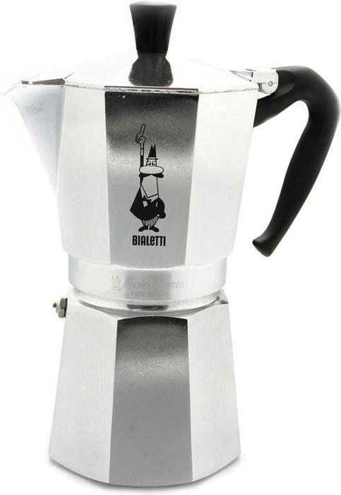 Кофеварка гейзерная Bialetti Moka Express, на 2 порции, 120 мл