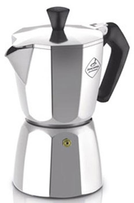 """Стильный дизайн классической кофеварки """"Tescoma"""" станет ярким элементом интерьера вашего дома! Кофеварка выполнена из гигиенически безопасного алюминия, ручка из жароупорной пластмассы. Объема кофе хватает на 9 чашек."""