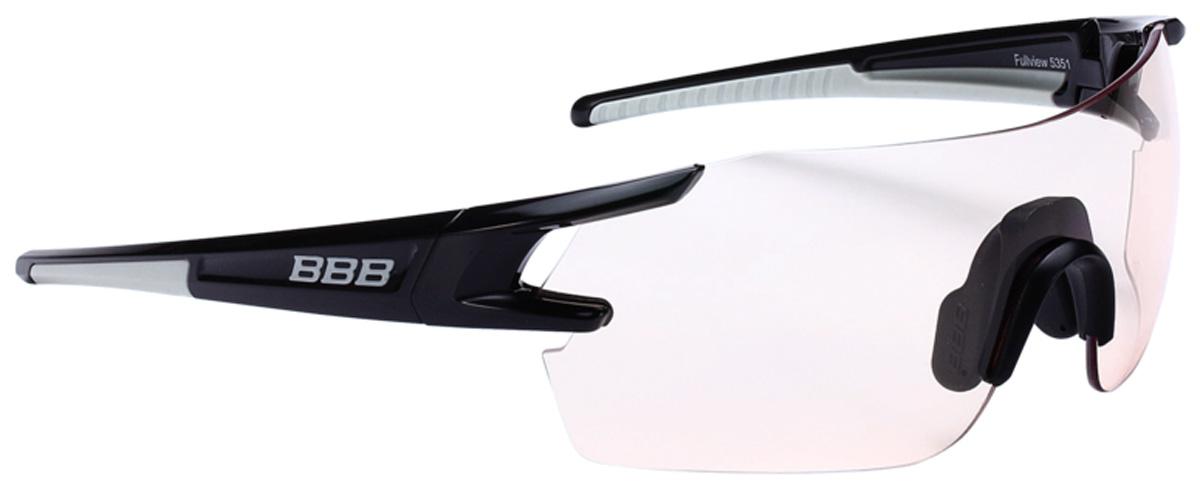 Очки солнцезащитные велосипедные BBB 2018 FullView PC Photochromic Lens, цвет: черный, серый