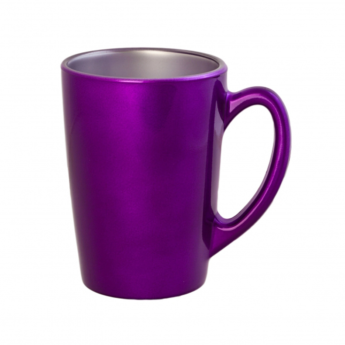 Кружка Luminarc Flashy Colors, цвет: фиолетовый, 320 мл бульонница luminarc flashy colors 500 мл фиолетовый